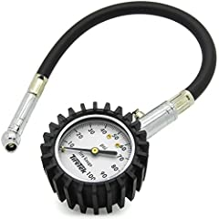 SPECIAL DESIGNED with a long, flexible rubber hose and a 360 degree angled rotating nozzle, enabling you to take a reading from a tire valve at any angle. This is a top-rated tire pressure monitoring system perfect for any motorcycle, bike, bicycle, ...