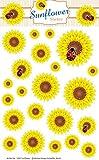 Schaeffer-Marketing / 1007 - Sunflower - STICKER! Selbstklebende Etiketten/Aufkleber sind zum...