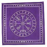YUZI 50* 50cm no tejido tarots mantel runa adivinación altar remiendo tarots paño
