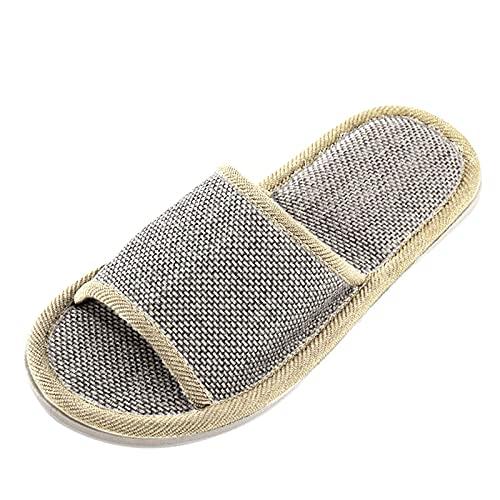 Pantofole da uomo e da donna, alla moda, casual, per la casa, per il tempo libero, grigio., 39.5 EU