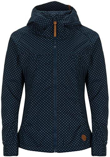 Alife & Kickin Black Mamba Jacket Damen Uebergangsjacke, marine dots, S