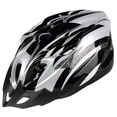 SHUANGA Fahrradhelm,Fahrradhelm mit Abnehmbarer Schutzbrille Visier cover für Männer Frauen Mountain & Road Fahrradhelm Einstellbarer Sicherheitsschutz Skateboarding Ski & Snowboard