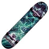 Darkstar Komplett Skateboard FP Shock Teal, Multi Color,...