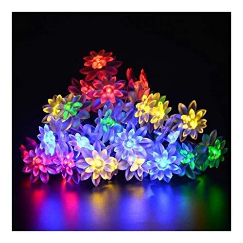 OKMIJN slingers, kerstbal voor led-lichtsnoer, Lotus-hanger, decoratie – voor festival, party, Halloween, Kerstmis
