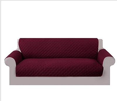 Bartali Funda de sofá elástica Olivia - Color Granate ...