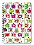 Collegetimer Apples 2015/2016 - Schülerkalender A5 - Weekly - Ringbindung / Ringbuch - 224 Seiten