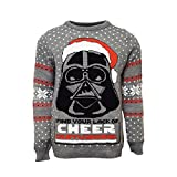 Official Star Wars Darth Vader Ugly Christmas Sweater...
