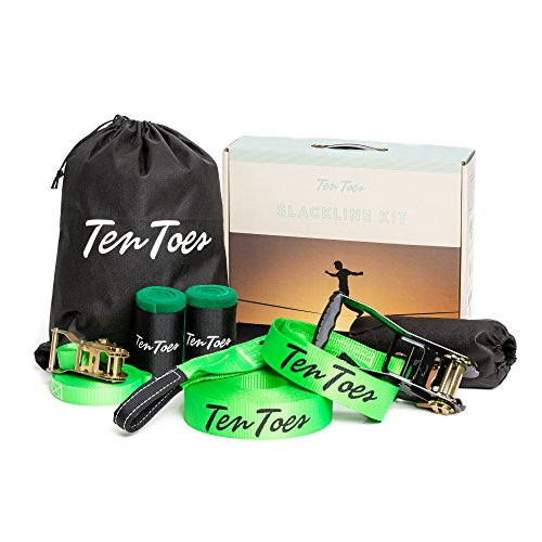 Ten Toes Slackline Kit with Training
