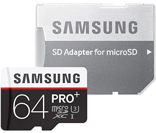 Samsung MB-MD64DA/EU Sched MicroSD Pro+ da 64GB, Adattore SD incluso