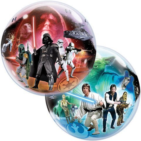 22 Star Wars Bubble Balloon by Qualatex