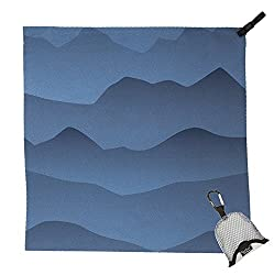 PackTowl Nano Towel, Blue Mountain, 19