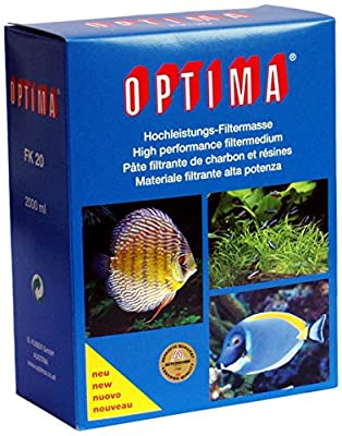 OPTIMA Fk20 Filtre de Charbon pour Aquariophilie 2000 ml