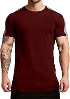 Magiftbox Mens Essential Short Sleeve Workout Tee Casual T-Shirts for Gym Training Jogging