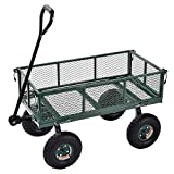 Sandusky Lee CW3418 Muscle Carts Steel Utility Garden Wagon, 400 lb. Load Capacity