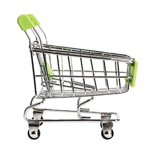 Body tolle Geschenke Mini Supermarkt Bollerwagen Shopping Utility Cart Modus Storage Cute Baby Toys Farbe zufällige