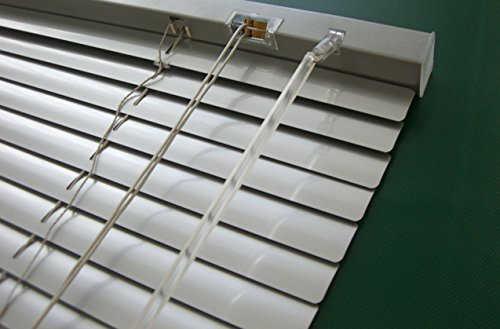 Unbekannt Alu Jalousie Silber - Breite 40 bis 240 cm - Höhe 130/160 / 220 cm - Tür Fenster Rollo Jalousette Aluminium Fensterjalousie Lamellen Metall (180 x 160 cm)