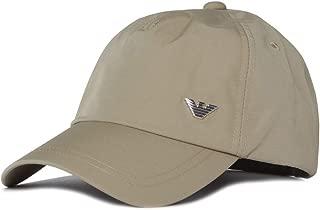 Emporio Armani Nylon Khaki Logo Cap