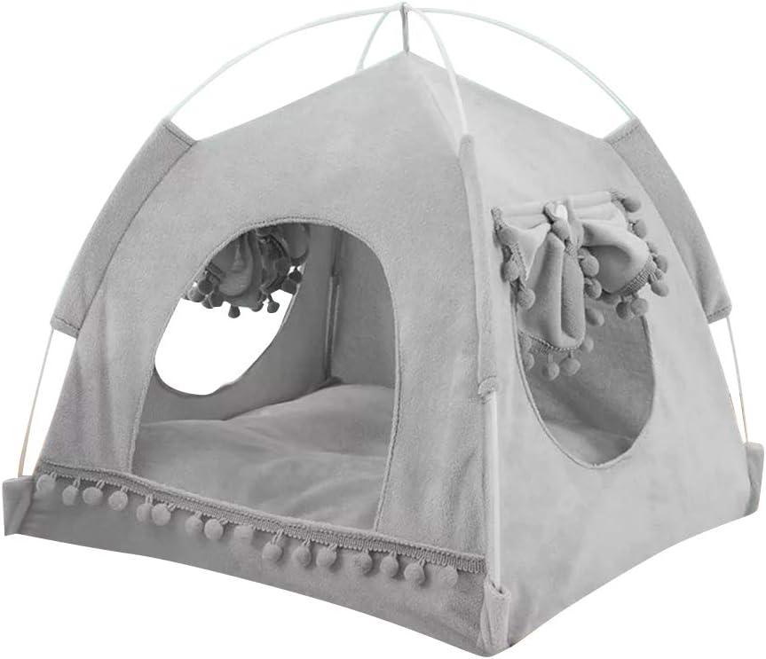 Style 3, M thematys Cama para Perro I Cueva de Lujo para Gatos I Lugar para Dormir para Perros I Cesta para Perros I Cesta para Gatos I Tienda para Gatos 38 x 38 x 36 x 27 cm
