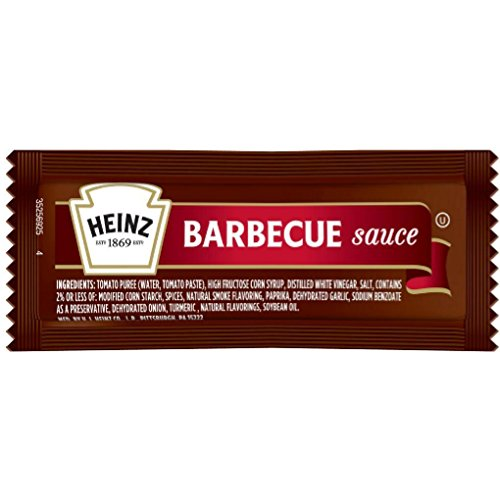 Heinz Barbecue Sauce Packets - 12 gram (25 ct.)