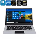 Jumper EZbook 3 PC Portatile Windows CPU Quad Core 14.1' FHD 10000mAh 4GB RAM