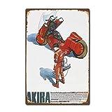 MiMiTee Akira Japanese Anime Manga Film Movie Blechschild