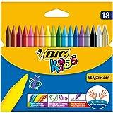 Bic Kids - Plastidecor - 18 Craies de coloriage