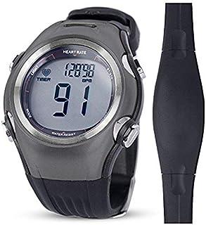 relojes deportivos frecuencia Monitor de frecuencia cardíaca Hombres Deportes relojes polares Impermeable Digital inalámbrico Correr Ciclismo Correa para el pecho Mujer Reloj deportivo Naranja