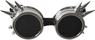 Charmian Steampunk Goggles Welding Retro Gothic Cyberpunk Cosplay Costume Accessory Sunglasses
