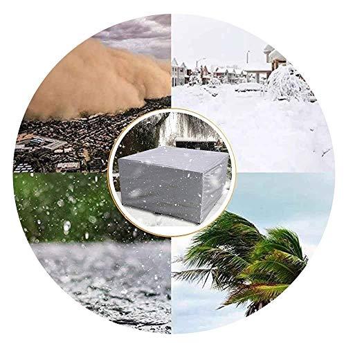 NINGWXQ Rattan Cube Cover Scheurweerstand Koord Ontwerp Waterdicht Tarpaulin groot terras meubilair waterdicht en stofdicht Four Seasons, verschillende maten, 2 kleuren