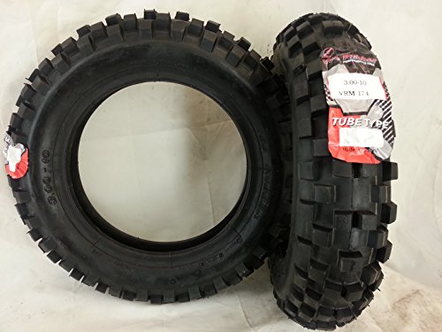 Neumáticos 3. 00-10 para Piaggio Vespa 50/125 cc, recomendado para nieve y barro