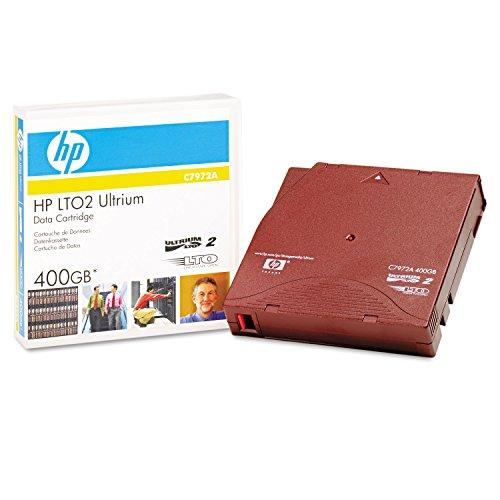 HP C7972A Data Cartridge Ultrium Sets, 200/400 GB of Compressed Data