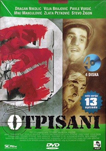 OTPISANI 13 Epizoda 4 DVD Prle Tihi Best Film Serija Aleksandar Djordjevic