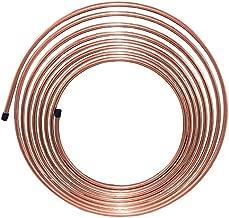 4LIFETIMELINES Copper-Nickel Brake Line Tubing Coil, 5/16 x 25