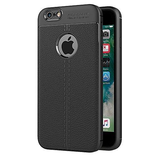 ZOFEEL Funda para iPhone 6 iPhone 6s La Cáscara Protectora Compacta Piel de Litchi Carbono…