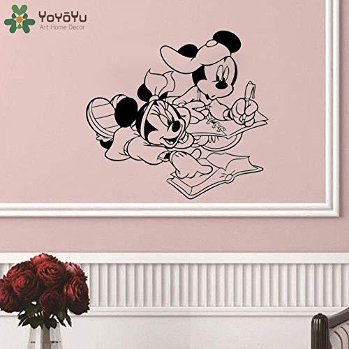 nkfrjz Vinilo para Pared Vinilo Lindo Mural de Pared Niñas Niños Etiqueta de la Pared 57x53cm