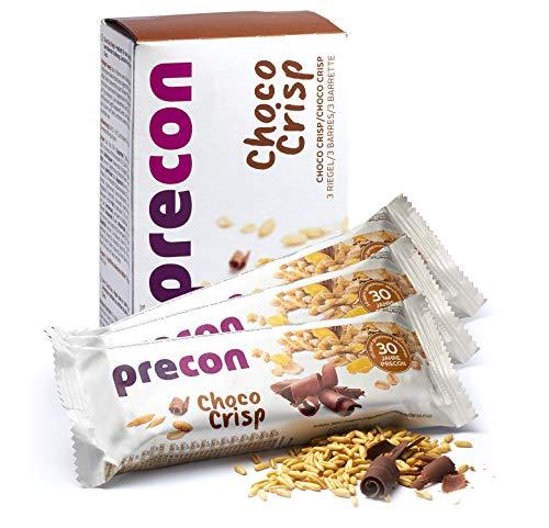 Precon BCM Diät Riegel zum Abnehmen – ChocoCrisp – 3 Riegel à 64 g – Mahlzeitenersatz für eine gewichtskontrollierende Ernährung