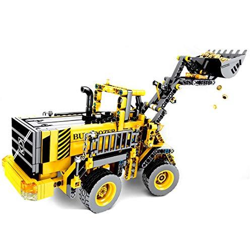 CYGG Conjunto de Edificios de Camiones de Transporte de la minería técnica, camión de Transporte de minería Compatible con vehículos de construcción Lego - 807 PCS