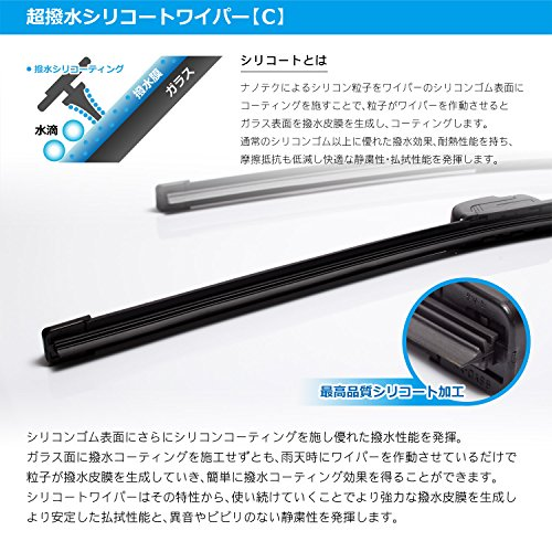 DRJ『WiperProシリコンエアロワイパー600mmシリコート』