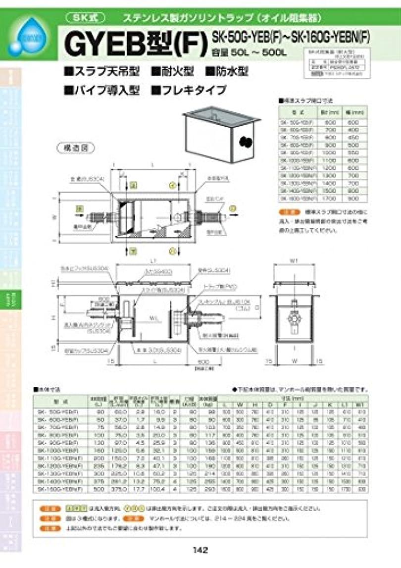 キャラクター非難する肉のGYEB型(F) SK-80G-YEB(F) 耐荷重蓋仕様セット(マンホール枠:ステンレス / 蓋:ステンレス) T-14