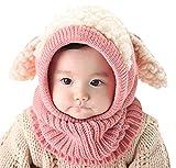 Conjunto de bufandas para bebé, de invierno, cálido, de punto de ganchillo,...