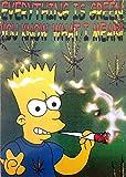 The Simpsons       Cannabis       10  x 15  cm Pos