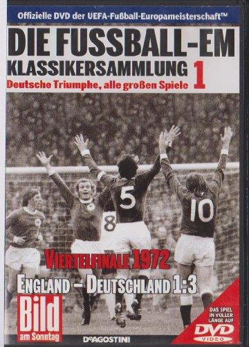 Die Fussball-EM ~ Klassikersammlung 1 ~ Deutsche Triumphe, alle grossen Spiele ~ Viertelfinale 1972 ~ England-Deutschland 1:3