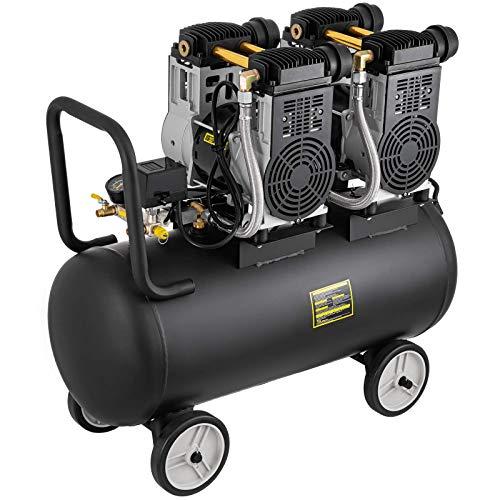 Compresor de aire de 70 litros actualizado, compresor de aire eléctrico de bajo ruido de 3200 W, compresor de aire...