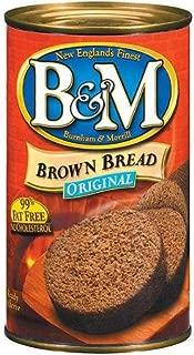 B&M Bread Brown Original 16-Ounce (Pack of 2)
