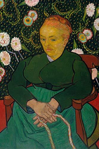 // TPCK // Vincent Van Gogh - Póster de mujer mecedora (1889), diseño de mujer mecedora (1889)