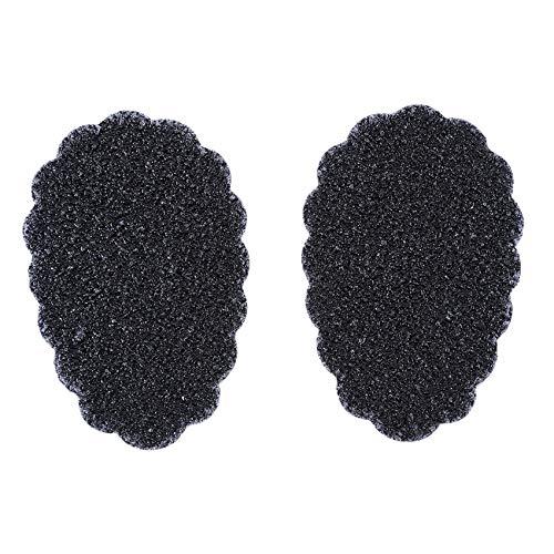 SUNSKYOO 1 par de almohadillas de goma autoadhesivas antideslizantes para suela de zapato de tacón alto