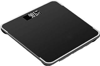 Báscula, Color Rosa Báscula de baño de Peso Digital Báscula de baño de Cocina doméstica Báscula electrónica Recargable con USB Báscula de Salud Corporal (Color: Negro) Portátil