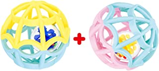 Play Ball Baby and Toddlers. 2 Sensory Outer Balls + 2 Inner Balls. Safe for Any Age from 0 Months