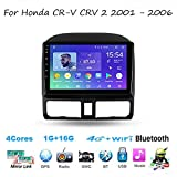 Auto Radio Double Din Car Stereo for Honda CRV CRV 2 2001-2006 GPS Navigation Head Unit 9 Inch Digital Multimedia Player Video Receiver Carplay DSP RDS