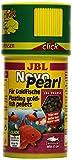 JBL NovoPearl 30303 - Pienso para Peces Dorados (granulado, dosificador de Clic, 100 ml)